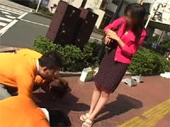 【エロ動画】Let's突撃土下座ナンパ155 - 素人むすめ動画あだると