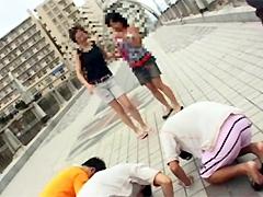 【エロ動画】突撃土下座ナンパ 総集編28のエロ画像