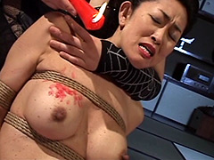 【エロ動画】熟女緊縛調教 〜もうやめられません〜のエロ画像