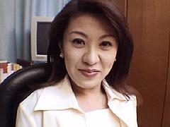 【エロ動画】人妻OL倶楽部1 上原美津子のエロ画像