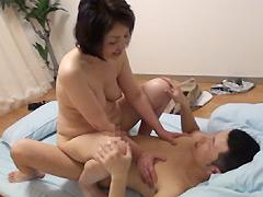 【エロ動画】六十路近親相姦2のエロ画像