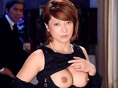 【エロ動画】未亡人 鏡麗子 生田沙織のエロ画像