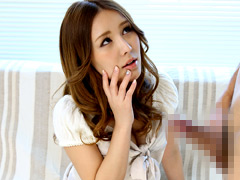 【エロ動画】美人若妻センズリ鑑賞のエロ画像