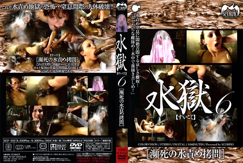 水獄6 瀕死の水責め拷問のエロ画像