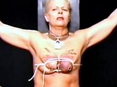 【エロ動画】乳房拷問4のSM凌辱エロ画像