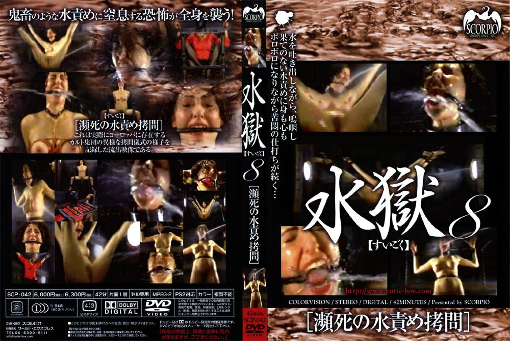 水獄8 瀕死の水責め拷問のエロ画像