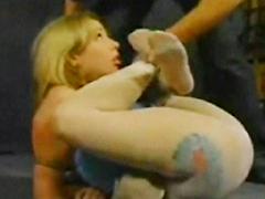 【エロ動画】乳房&顔面拷問 前編のSM凌辱エロ画像