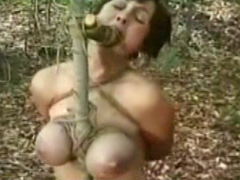 【エロ動画】野外埋立 焚火責め 顔面拷問のエロ画像