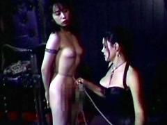 【エロ動画】実録 地下クラブ放送のSM凌辱エロ画像