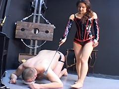 【エロ動画】Bondage pain 女王のM男調教のエロ画像