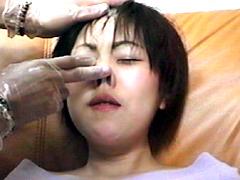 美女ブタ鼻拷問