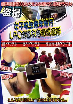 女子校生修学旅行 しら○ま温泉宿和式便所6