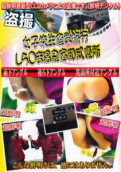 女子校生修学旅行 しら○ま温泉宿和式便所4