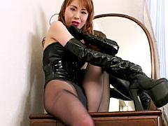 黒パンストの女王 PART2 淫語スペシャル
