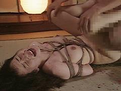 【エロ動画】奇譚クラブ47 京都のM女 泣き洗礼のSM凌辱エロ画像