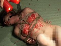 【エロ動画】恍惚の美肌 白崎令於のSM凌辱エロ画像