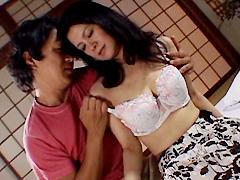 【エロ動画】五十路近親相姦中出し親子 廣野すみれ 恵都子のエロ画像