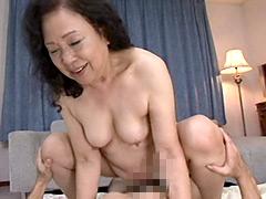 【エロ動画】お婆ちゃんの悩殺BODY4時間総集編2のエロ画像