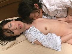 【エロ動画】近親相姦 五十路の熟母 総集編のエロ画像