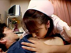 【エロ動画】患者さんとヤリたくて私はもう… 美人ナース逆レイプのエロ画像