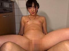 """貧乳:「極ペタ」貧乳を超えた""""無乳""""美少女 澄川鮎(18)"""