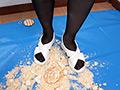 倉科ちゃんの煎餅クラッシュ ナースシューズ