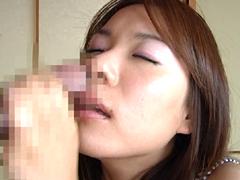 鼻の穴ブッコミ射精 Part.1