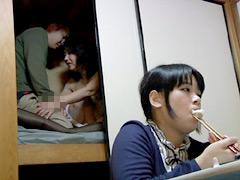 【エロ動画】妻が見てない隙に義母とヤル4のエロ画像