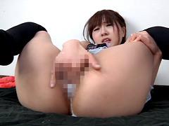膣穴指拡張 ずっこしピストン、マン汁垂れオナニー