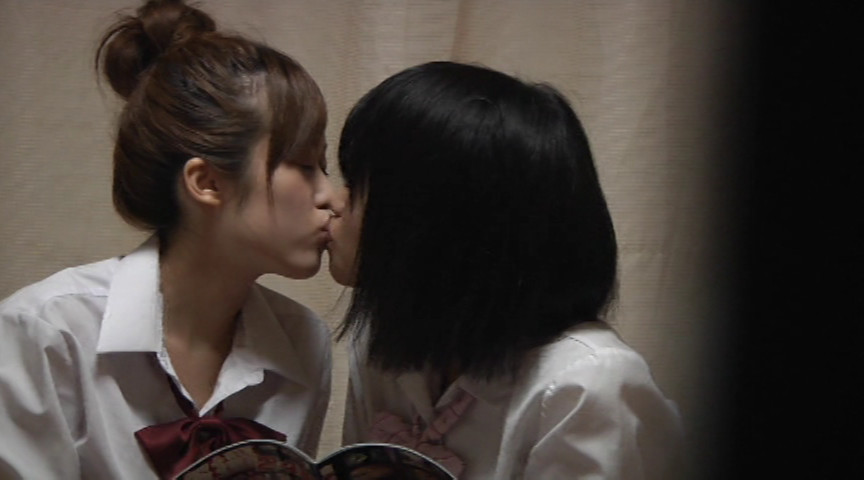 シスコン兄の「妹」部屋覗き映像 完全覗き撮り 女子校生 はじめてのレズ の画像1