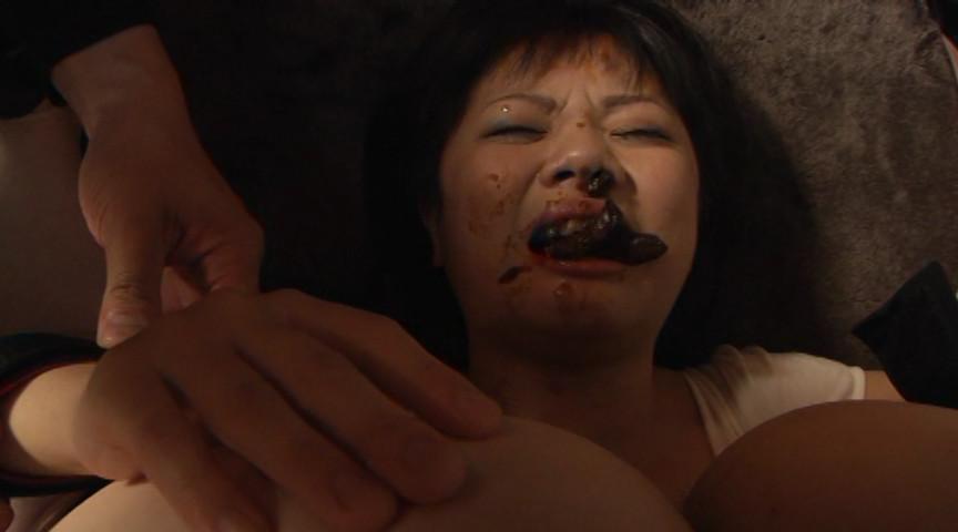 口の中にウンコされる女