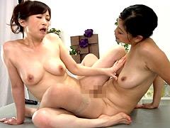 【エロ動画】熟女エステ 柔肉オイル愛撫レズのエロ画像