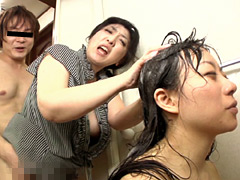 【エロ動画】妻が見てない隙に義母とヤル5のエロ画像