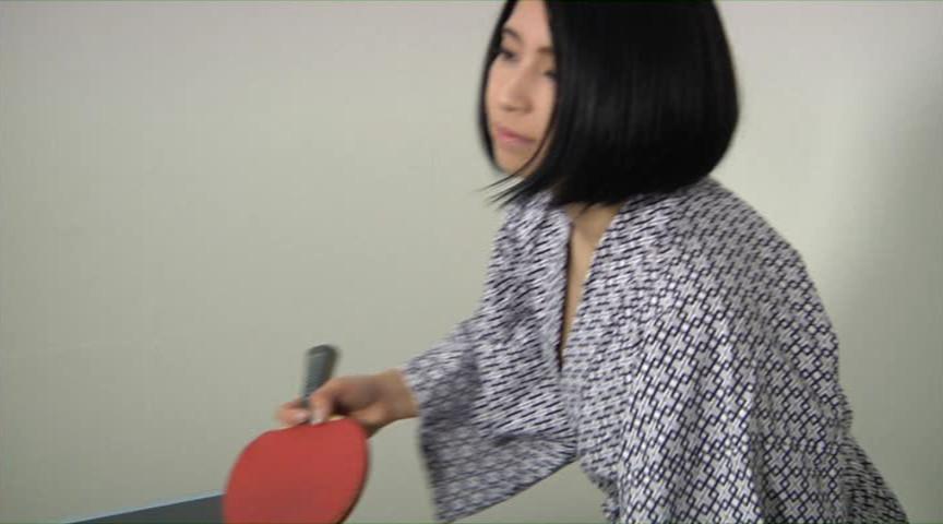 卓球胸チラ乳ゆれ ポロリもあるよ!