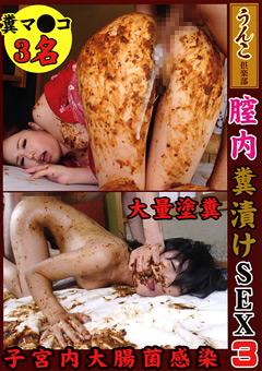 膣内糞漬けSEX3