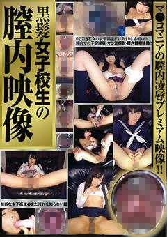 「黒髪女子校生の膣内映像」のパッケージ画像