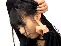 かなこ:美女の耳