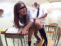 女子○生に催眠術をかけ校内猥褻行為を行う変態教師