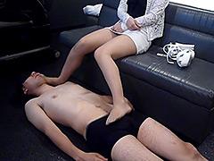 【新着動画】サド居酒屋店員のM男いじめプレイ