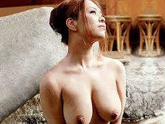 【エロ動画】巨乳人妻温泉 イヤシの宿9のエロ画像