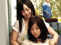 【エロ動画】部下に寝取られた上司の妻2 秋野千尋 羽月希のエロ画像