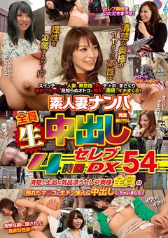 【熟女動画】素人妻ナンパ生中出し-4時間ゴージャスDX54