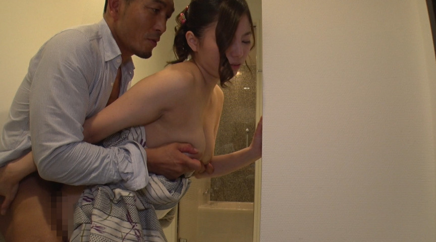 お祭りで見つけた浴衣妻をナンパ!