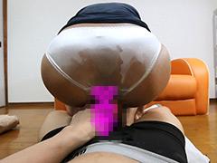 ツ○ヤ店員の尻コキ・尻ズリ(最上もえ)