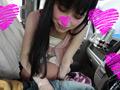 京都美人才女の車内フェラで口内発射(柴咲アイネ)