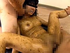 女子○学生 強制脱糞 塗り糞ファック