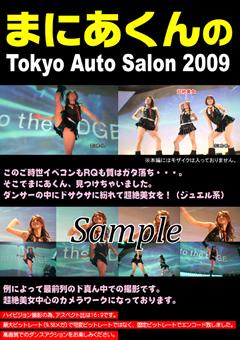 まにあくんのTokyo Auto Salon2009