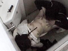 押収テープ極秘入手!女子○学生トイレ強姦現場盗撮