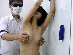 Dカップスレンダー美女 くすぐり乳首責め3