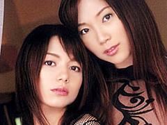 【エロ動画】あぶない二人 小川あさ美 柚木ティナのエロ画像
